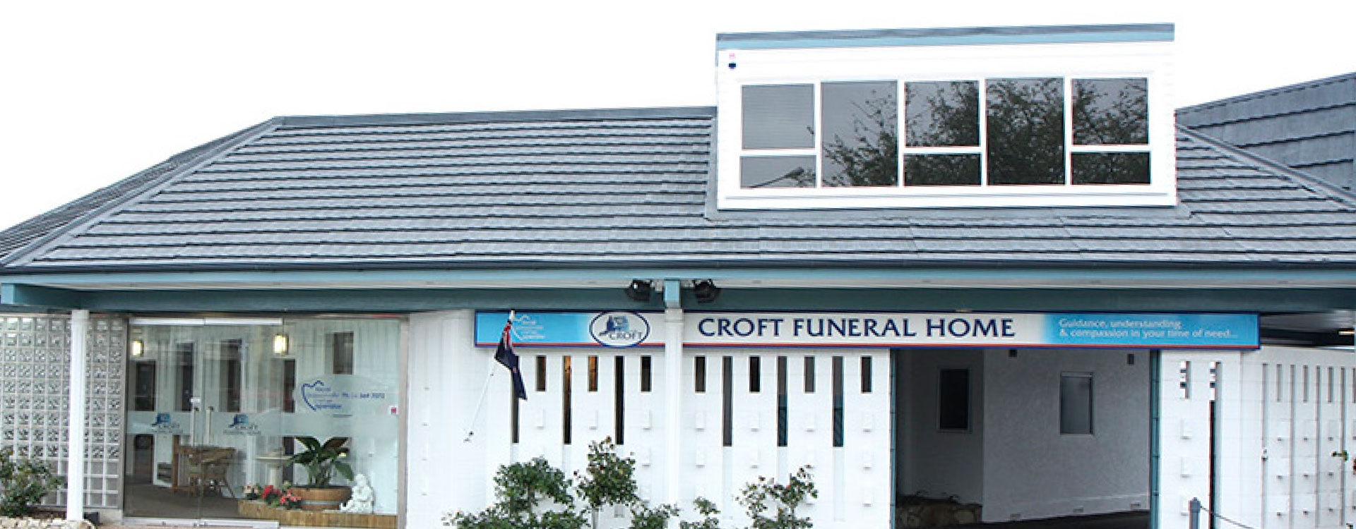 Croft Funeral Services Building